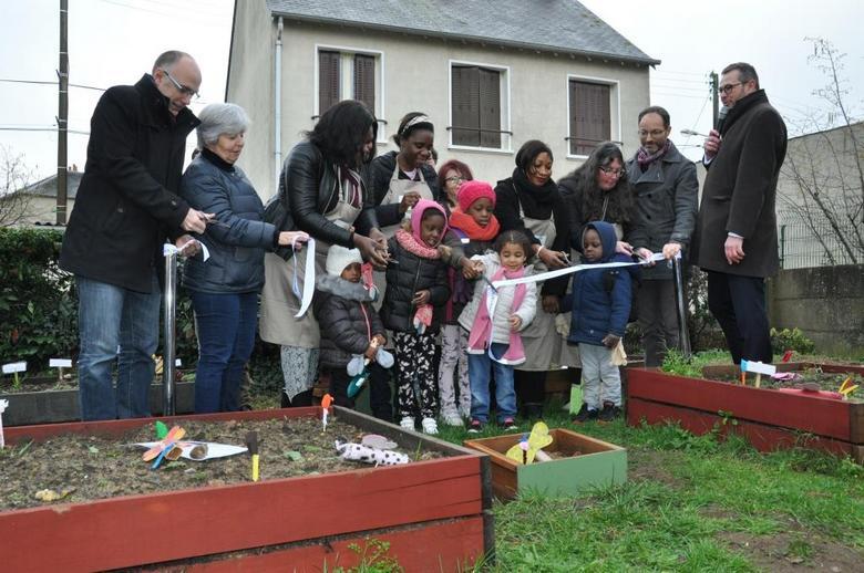 Le Rif - Inauguration du jardin du lien - Mancelle d'habitation