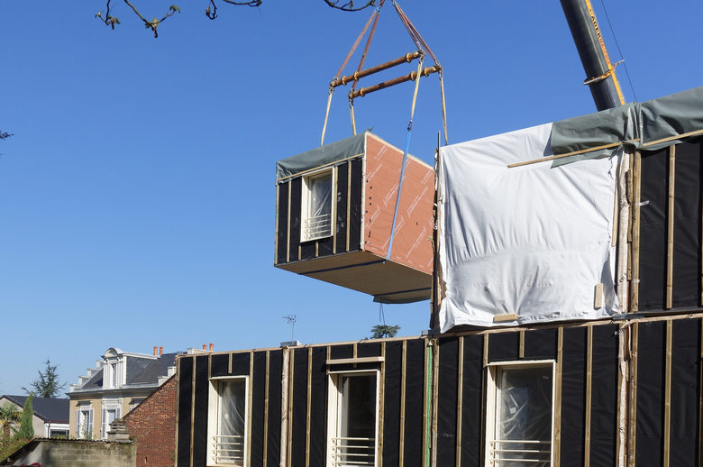 Reconstruction Résidence Bonnière - Mancelle d'habitation